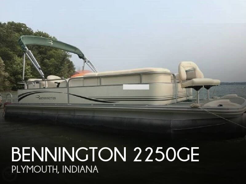 Used Pontoon Boats For Sale in Indiana by owner | 2006 Bennington 22