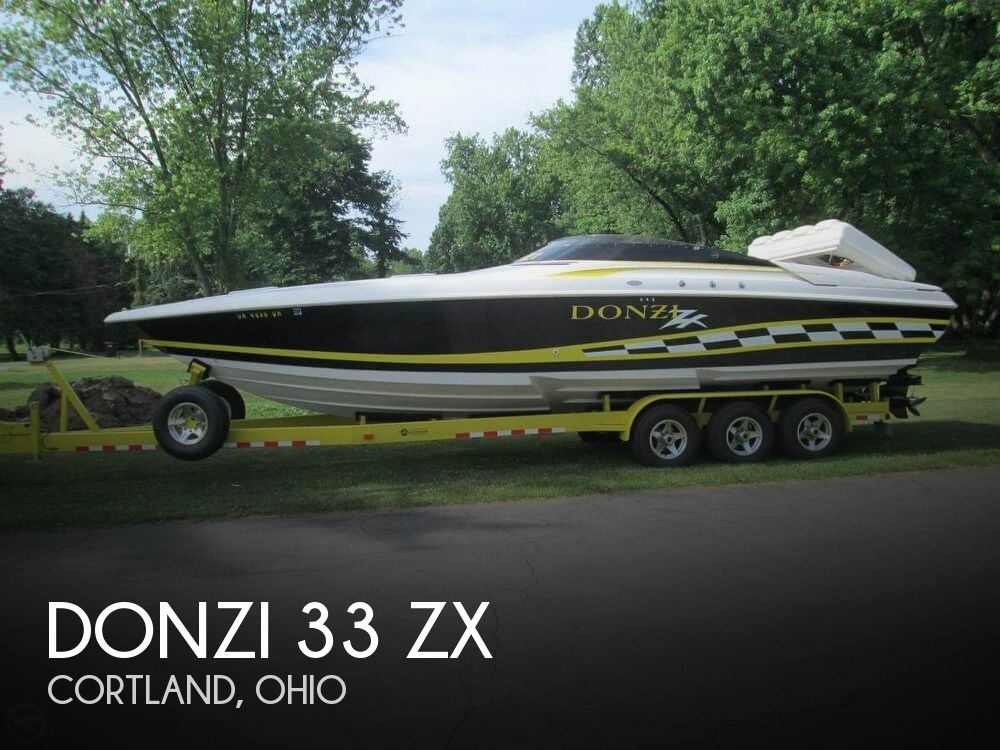 Used Boats For Sale in Cleveland, Ohio by owner | 1998 Donzi 33