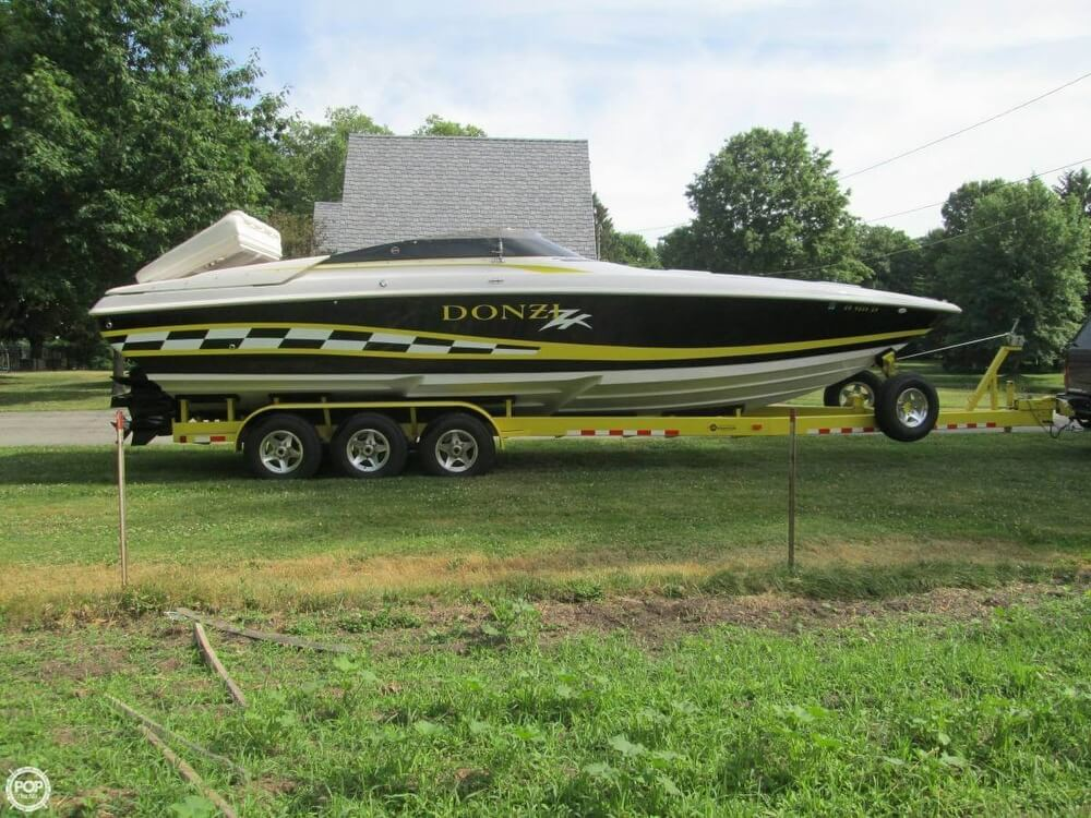 1998 Donzi boat for sale, model of the boat is 33 ZX & Image # 2 of 13