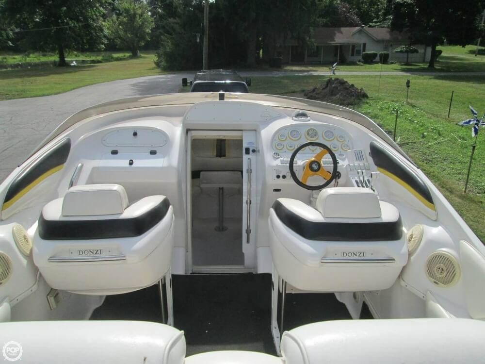 1998 Donzi boat for sale, model of the boat is 33 ZX & Image # 9 of 13