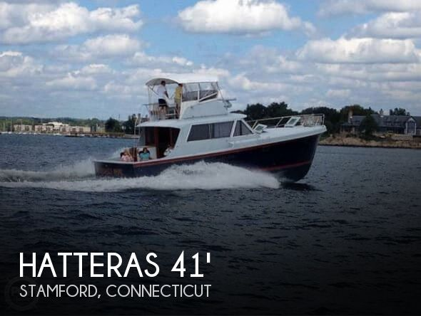 1969 HATTERAS CONVERTIBLE for sale