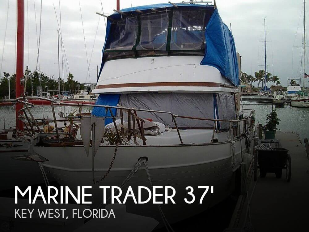 Used Marine Trader Boats For Sale by owner | 1982 Marine Trader 37