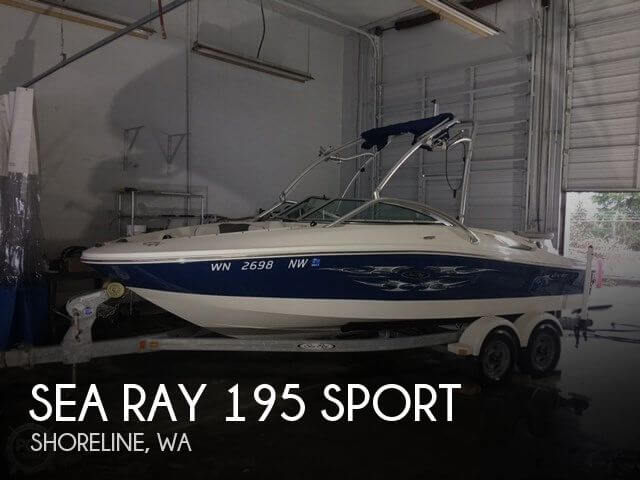 2007 SEA RAY 195 SPORT for sale