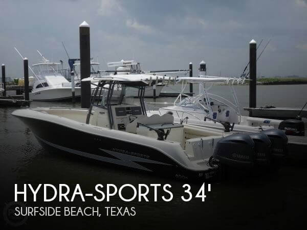 Used Hydra-Sports Boats For Sale by owner | 2012 Hydra-Sports 34