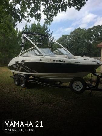 Used Yamaha Boats For Sale in Texas by owner | 2008 Yamaha 21