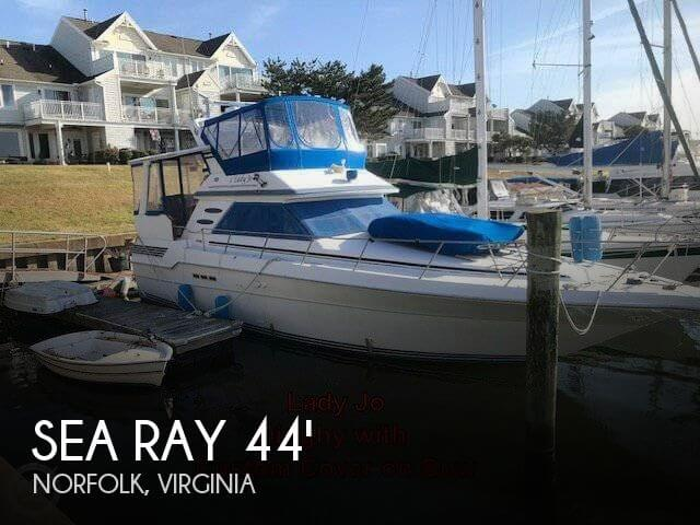 Used Boats For Sale in Virginia Beach, Virginia by owner | 1990 Sea Ray 43