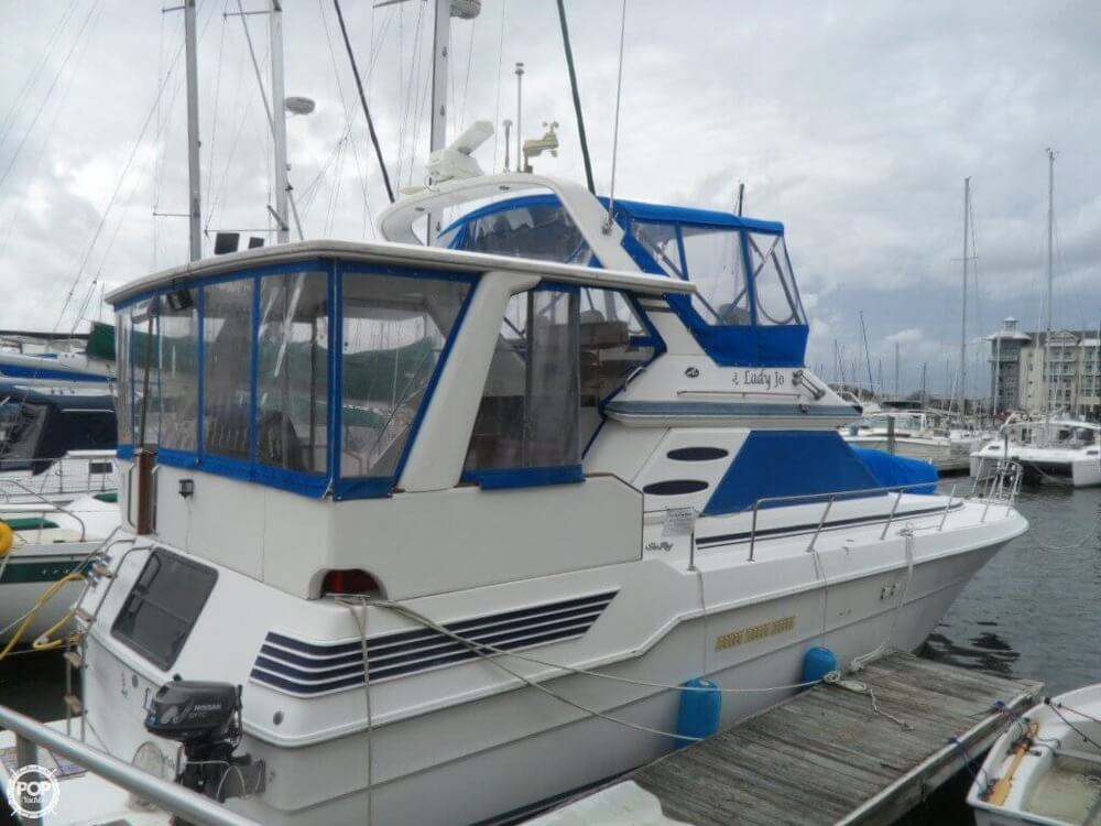 1990 Sea Ray boat for sale, model of the boat is 440 Aft Cabin & Image # 24 of 40