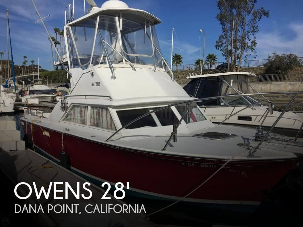 1969 Owens boat for sale, model of the boat is 27' Sports-fisher & Image # 1 of 40