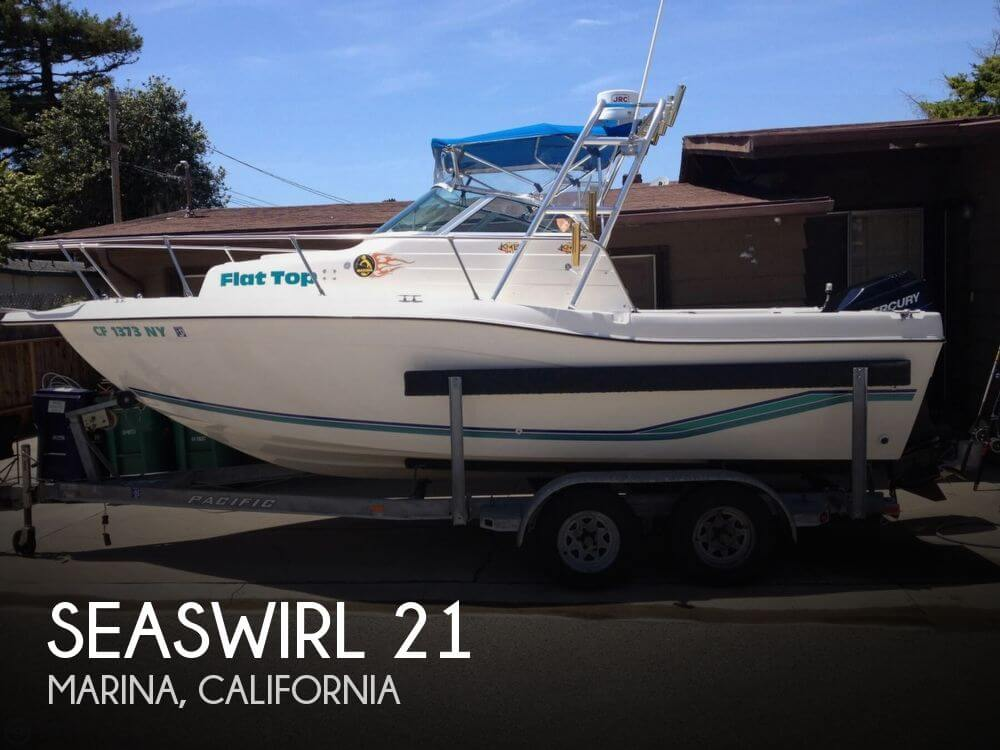Used Boats For Sale in Salinas, California by owner | 1996 Seaswirl 21