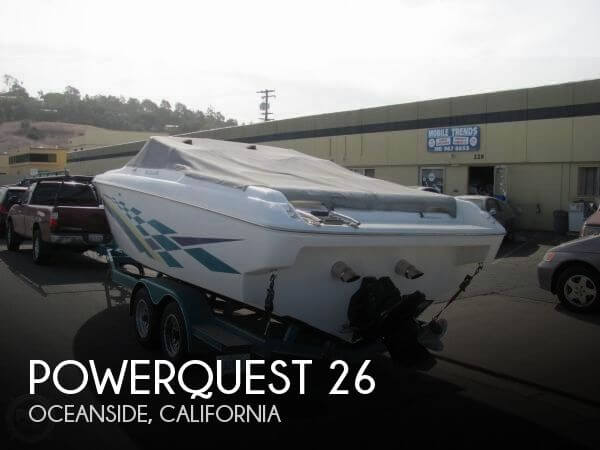 Used Powerquest Boats For Sale by owner | 1998 Powerquest 26