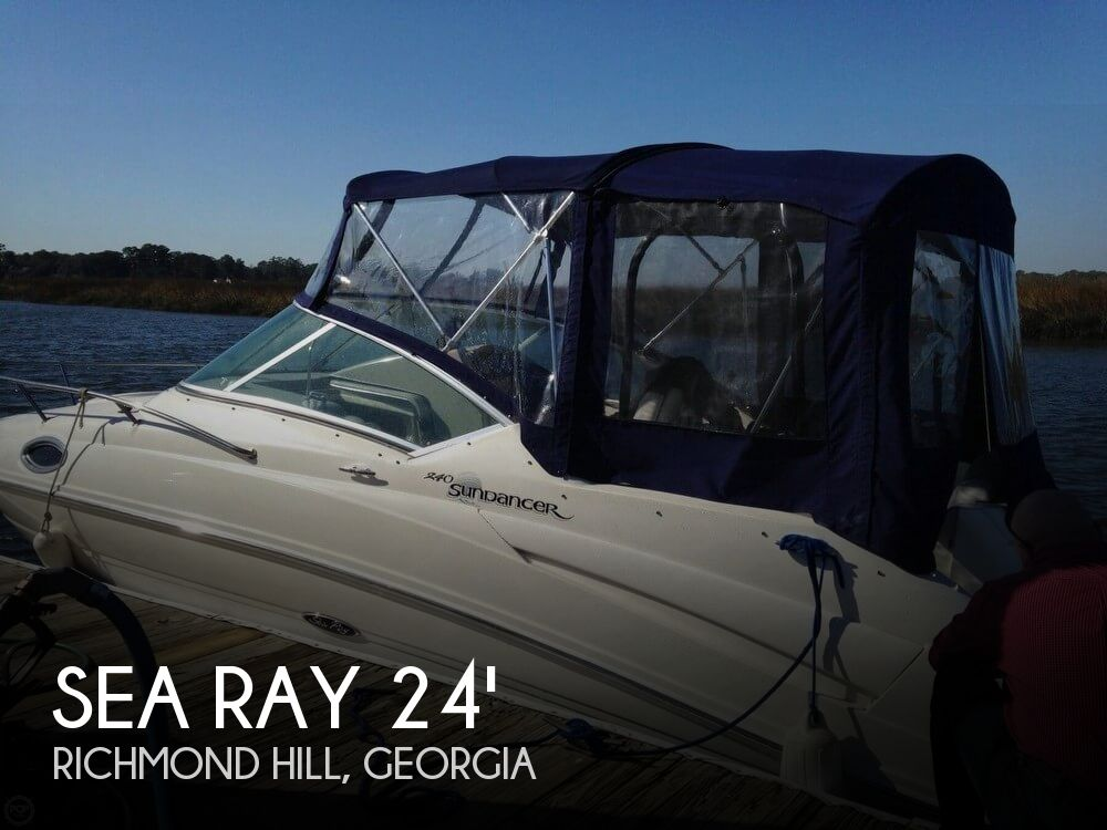 Used Sea Ray 24 Boats For Sale by owner | 2006 Sea Ray 24
