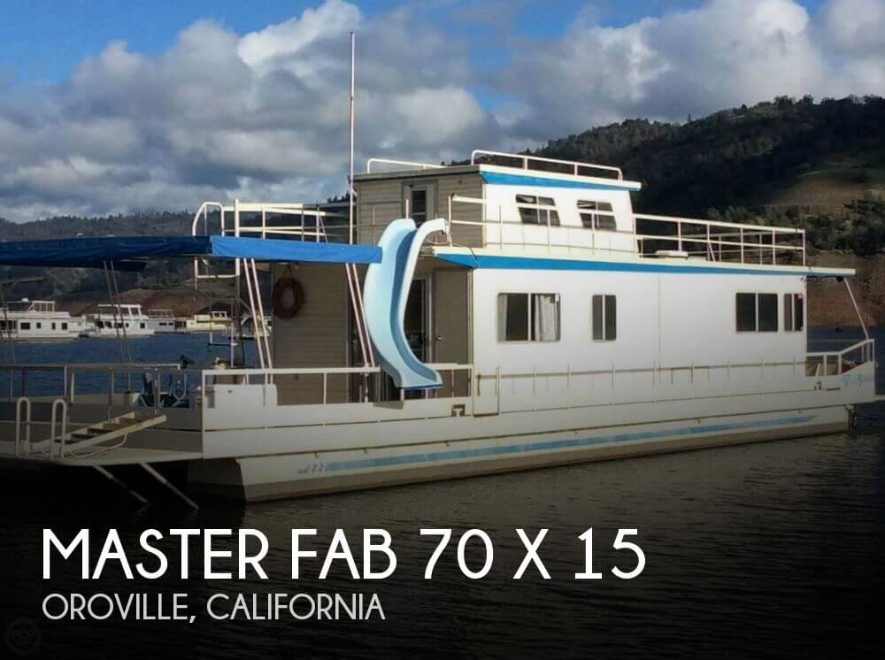 Used Houseboats For Sale in California by owner | 1985 Master Fabricators 70