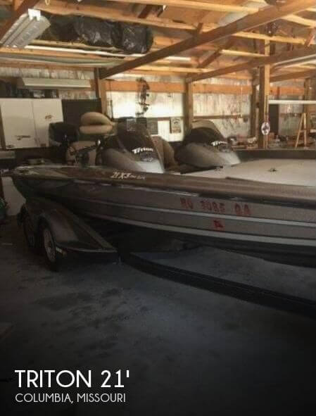 Used Boats For Sale in St. Louis, Missouri by owner | 2009 Triton 21