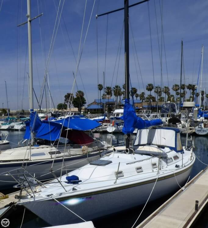 1980 Ericson Yachts boat for sale, model of the boat is 38 & Image # 2 of 40
