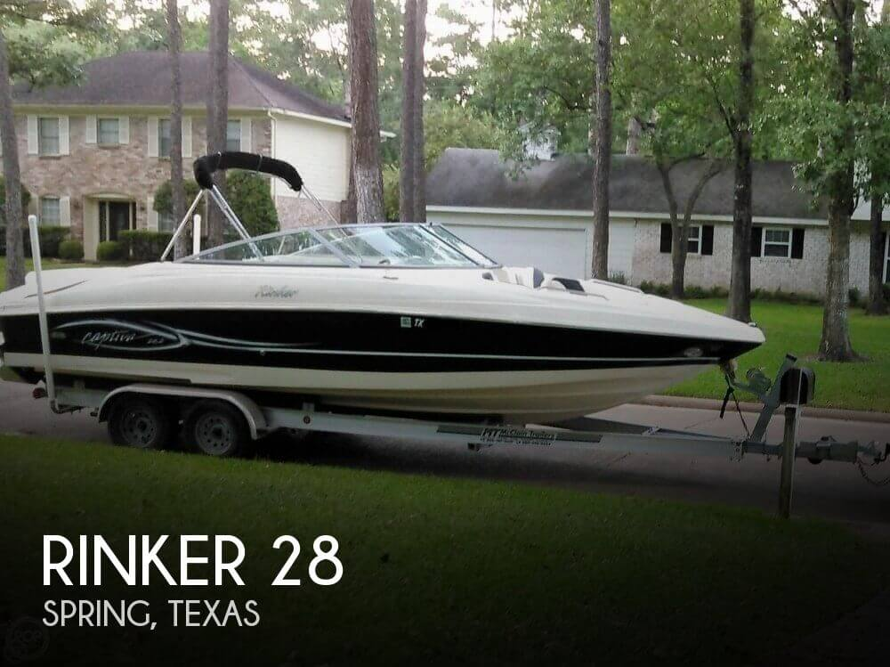 Used Rinker Boats For Sale in Texas by owner | 2005 Rinker 28