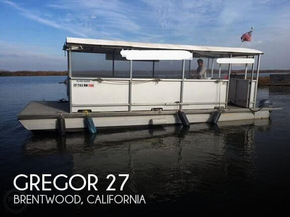 Used Boats For Sale in Santa Rosa, California by owner | 1999 Gregor 27