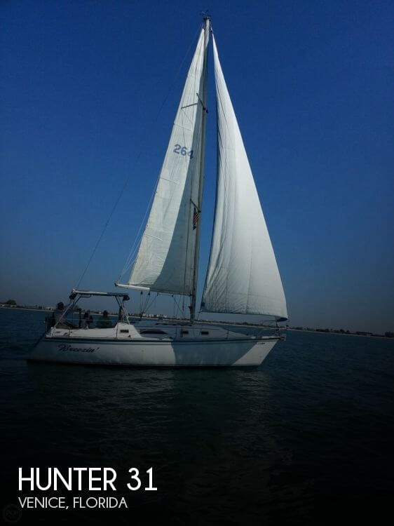 Used Hunter Sailboats For Sale in Florida by owner | 1984 Hunter 31