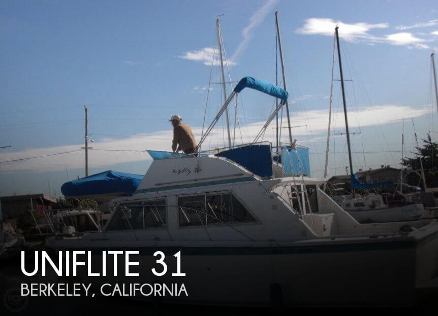 Used Fishing boats For Sale in Santa Rosa, California by owner | 1977 Uniflite 31