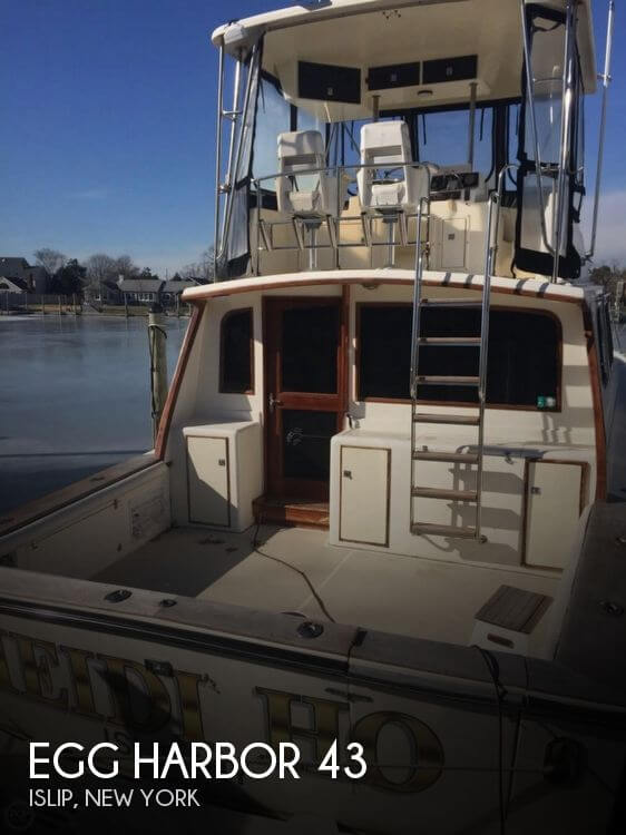 Used Fishing boats For Sale in New York by owner | 1989 Egg Harbor 43