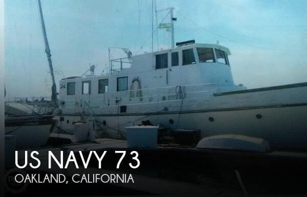 Used Boats For Sale in Santa Cruz, California by owner | 1940 US Navy 73