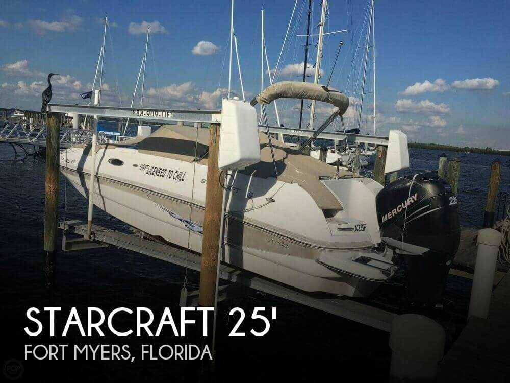 Used Starcraft Deck Boats For Sale by owner | 2006 Starcraft 25