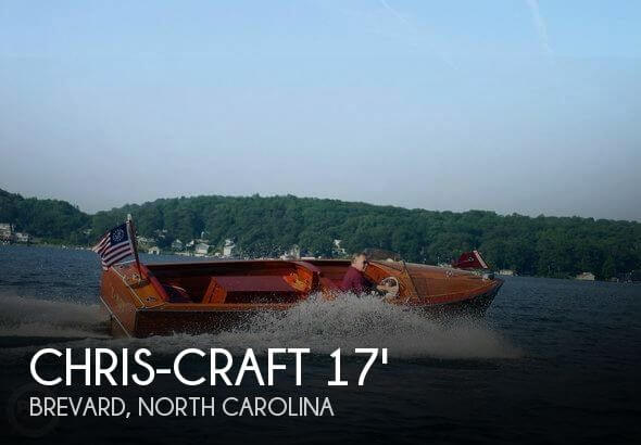 Used Chris-Craft Boats For Sale in North Carolina by owner | 1957 Chris-Craft 17