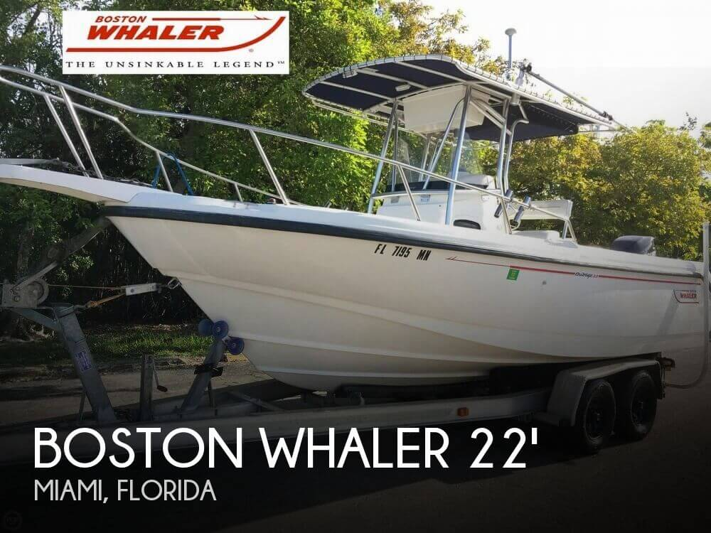 Used Boston Whaler 22 Boats For Sale by owner | 2001 Boston Whaler 22