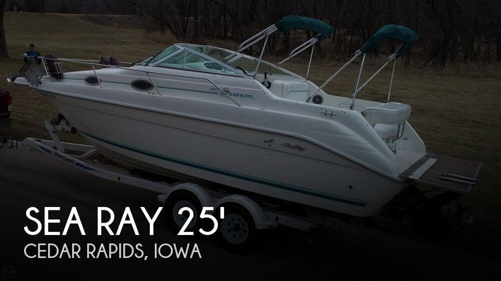 Used Boats For Sale in Cedar Rapids, Iowa by owner | 1995 Sea Ray 25