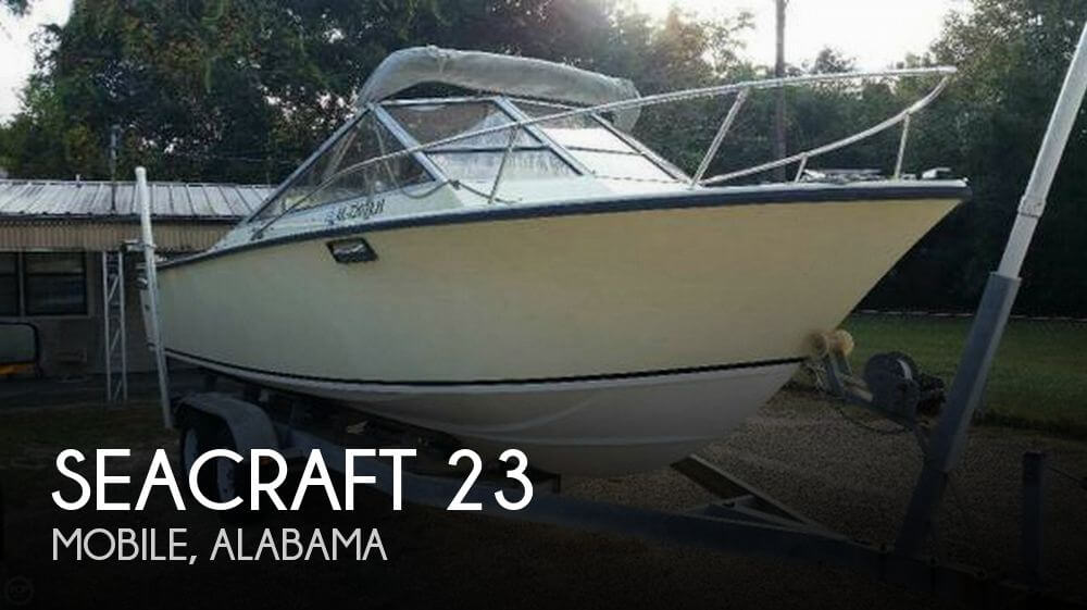 Used SEACRAFT Boats For Sale by owner   1977 SeaCraft 23