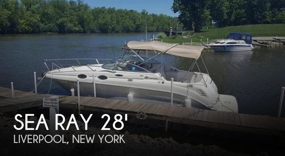 Used Boats For Sale in Utica, New York by owner | 2002 Sea Ray 28