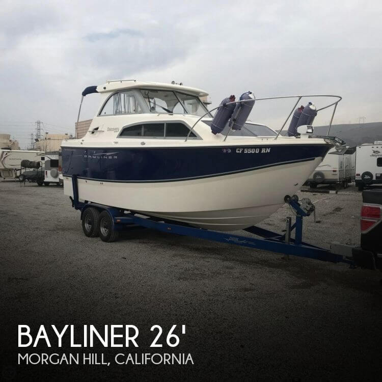 Used Boats For Sale in Salinas, California by owner | 2007 Bayliner 26