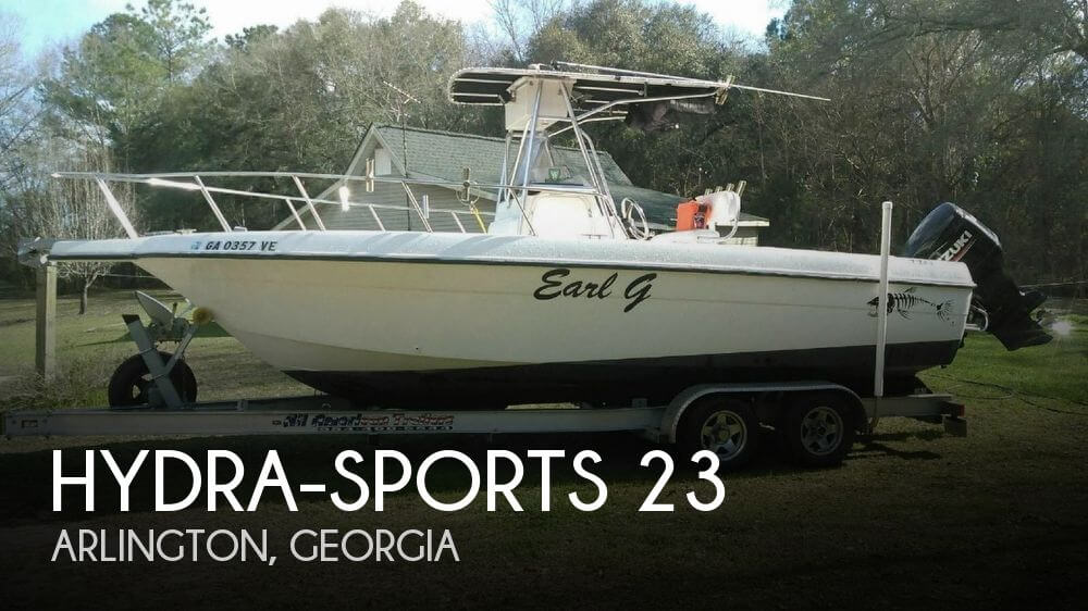 Used Boats For Sale in Dothan, Alabama by owner | 2000 Hydra-Sports 23