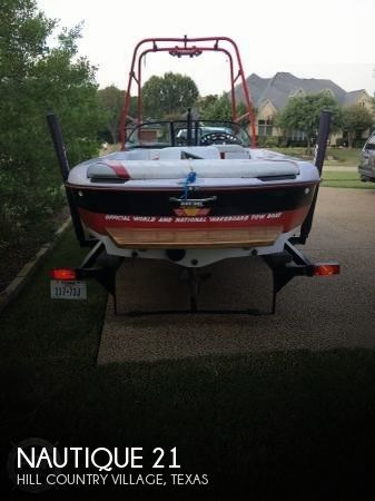 Used Nautique Ski Boats For Sale by owner | 1999 Nautique 21