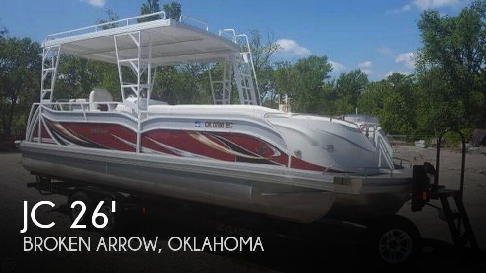 Used Pontoon Boats For Sale by owner | 2014 JC 266 Tritoon Classic