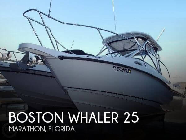 Used Boston Whaler Boats For Sale in Florida by owner | 2005 Boston Whaler 25