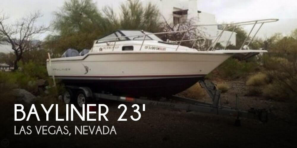 Used Bayliner 23 Boats For Sale by owner | 1990 Bayliner 23