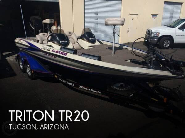 Used Boats For Sale in Tucson, Arizona by owner | 2005 Triton 20