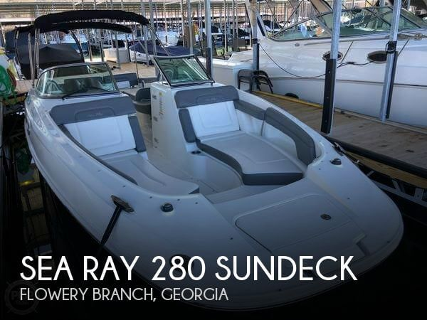 Used Sea Ray Deck Boats For Sale by owner | 2011 Sea Ray 28