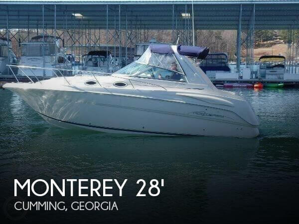 Used Monterey Boats For Sale in Georgia by owner | 2001 Monterey 28