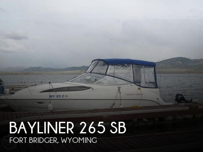 Used Boats For Sale in Wyoming by owner | 2003 Bayliner 26