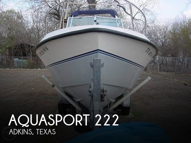 1989 Aquasport boat for sale, model of the boat is 222 Express Fisherman & Image # 1 of 41