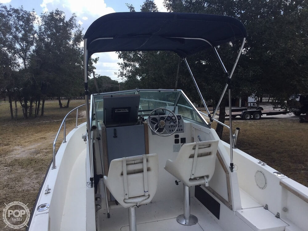 1989 Aquasport boat for sale, model of the boat is 222 Express Fisherman & Image # 15 of 41