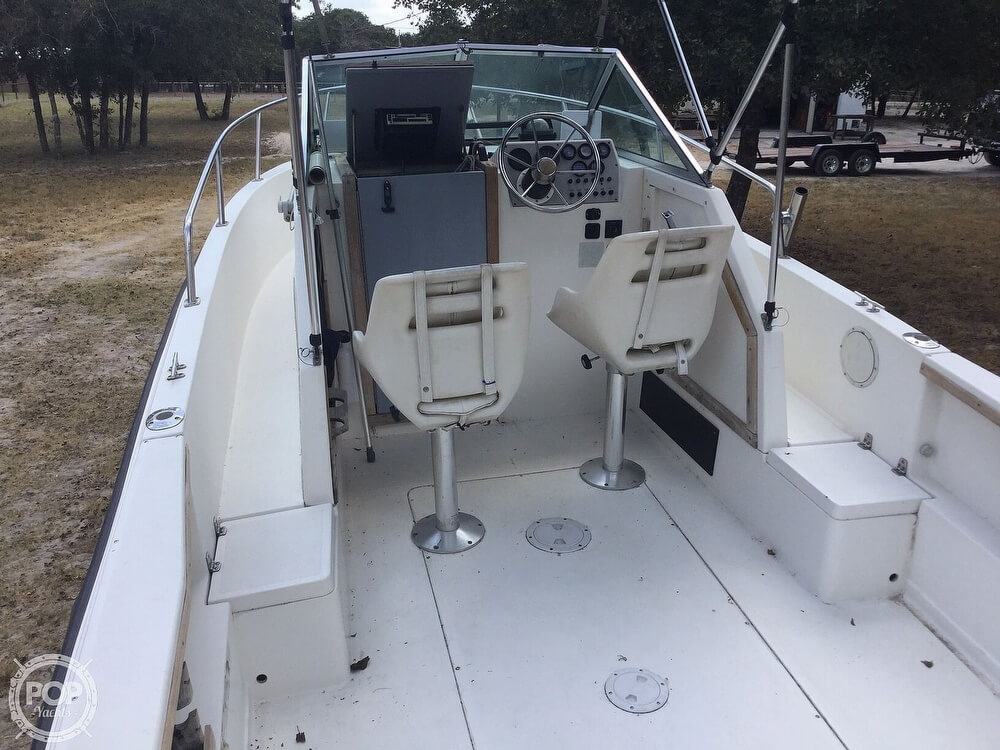 1989 Aquasport boat for sale, model of the boat is 222 Express Fisherman & Image # 17 of 41