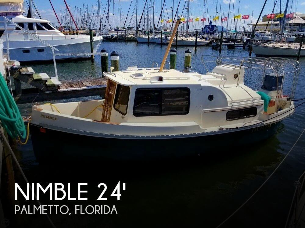 Used Nimble Boats For Sale by owner | 2002 24 foot Nimble Nomad Special