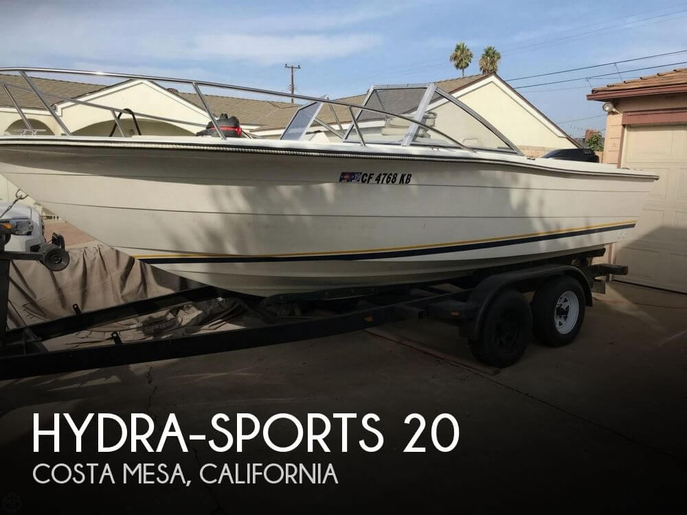Used Boats For Sale by owner | 1987 Hydra-Sports 20