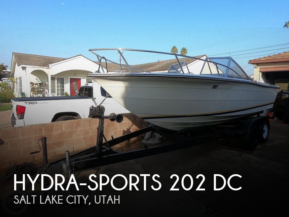1987 Hydra-Sports boat for sale, model of the boat is 202 DC & Image # 1 of 40