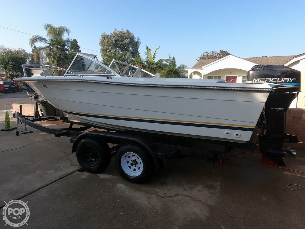 1987 Hydra-Sports boat for sale, model of the boat is 202 DC & Image # 4 of 40