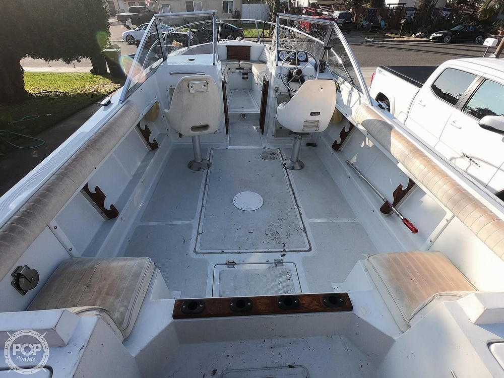 1987 Hydra-Sports boat for sale, model of the boat is 202 DC & Image # 11 of 40