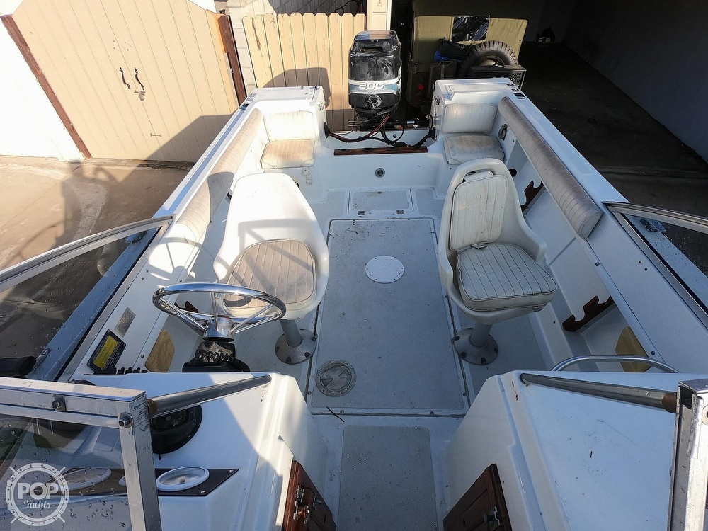 1987 Hydra-Sports boat for sale, model of the boat is 202 DC & Image # 13 of 40