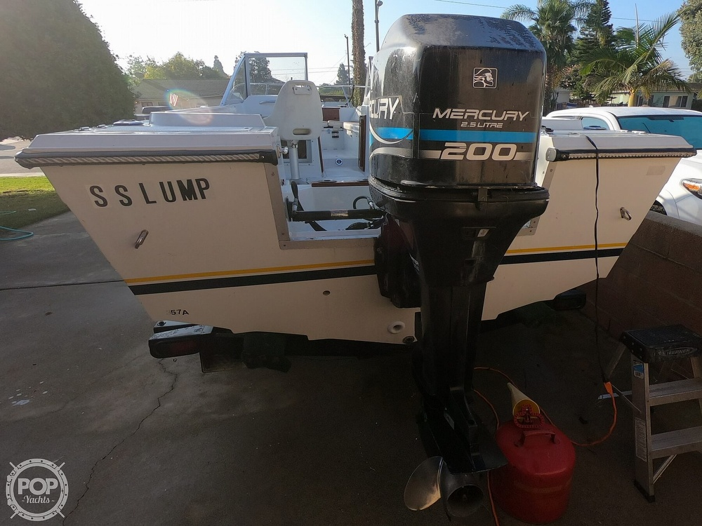 1987 Hydra-Sports boat for sale, model of the boat is 202 DC & Image # 15 of 40